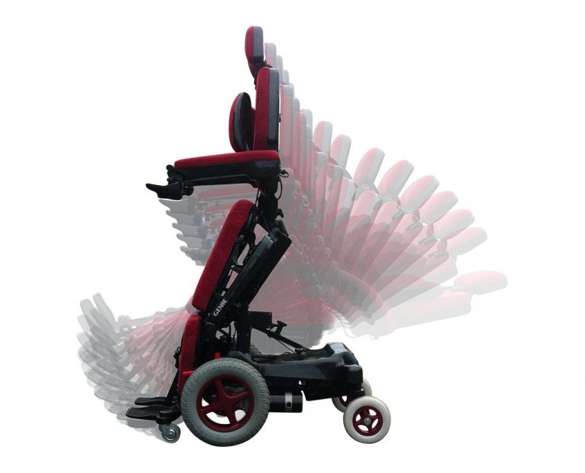 genie wheelchairs red 28