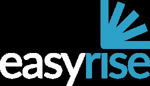 easyrise logo whitetext